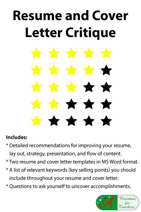 level 2 resume critique