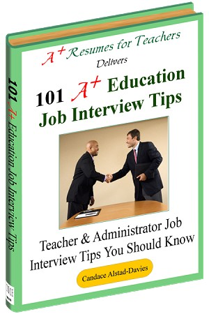 101 A+ Education Job Interview Tips