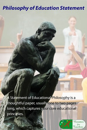Level 3 Philosophy of Education Statement