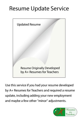 Level 1 Resume Update